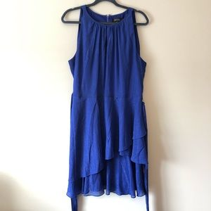 Tahari ASL Sparkly Blue Dress